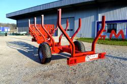 Chassis remorque grue CMS MP65