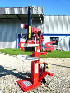 Fendeuse de bûches CMS 20T treuil hydraulique et groupe hydraulique