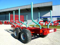 Chassis remorque forestier CMS