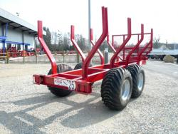 Chassis remorque forestier BP85