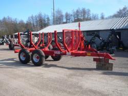 Chassis remorque forestier MP85