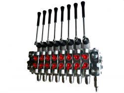 Distributeur 8 elements multi-leviers