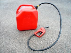 Jerricane carburant 25L avec pistolet pompe