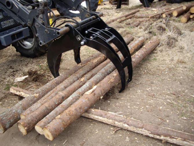 Pince de manutention, Pince de débardage, matériel forestier, grappin de débardage # Pince A Bois Pour Tracteur