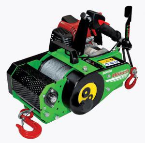 Treuil portable VF150 automatic à câble forest winch